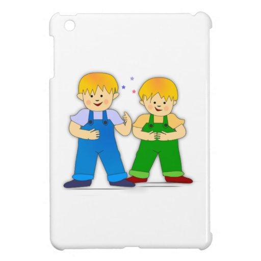 Dos muchachos iPad mini coberturas