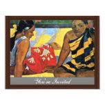 Dos mujeres de Tahití (cuál es nuevo Parau el Api) Anuncio