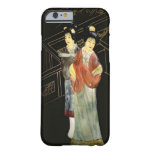 Dos mujeres japonesas funda de iPhone 6 barely there