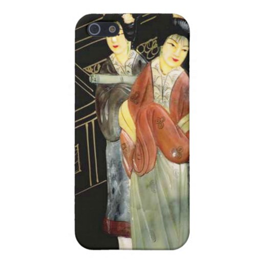 Dos mujeres japonesas iPhone 5 protectores