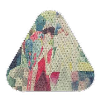 Dos mujeres y un hombre con los loros, siglo XX Altavoz Bluetooth