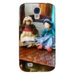 Dos muñecas de trapo coloniales