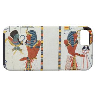 Dos murales de las tumbas de los reyes de Thebes, Funda Para iPhone SE/5/5s