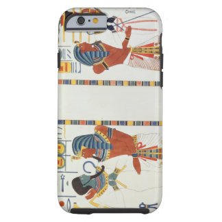 Dos murales de las tumbas de los reyes de Thebes, Funda Resistente iPhone 6
