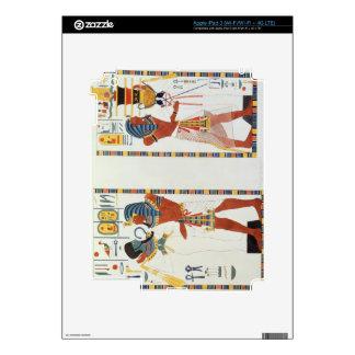 Dos murales de las tumbas de los reyes de Thebes, iPad 3 Skins