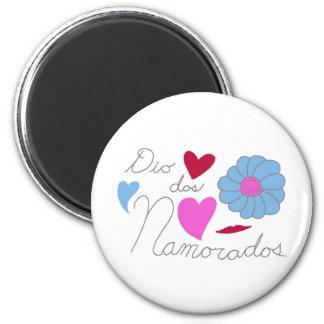 DOS Namorados 2011 del diámetro Imán Redondo 5 Cm