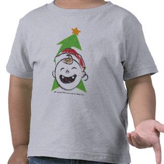 Dos navidad delantero de Teef Camiseta
