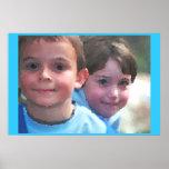 Dos niños poster