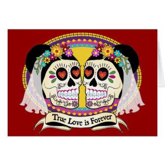 Dos Novias (2 Brides) Card