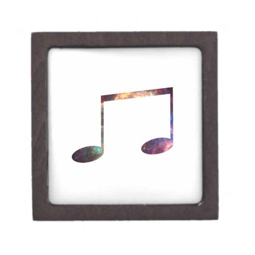 Dos octavas notas de la nebulosa 1 cajas de joyas de calidad