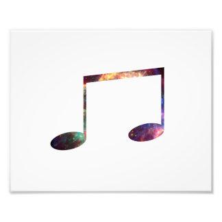 Dos octavas notas de la nebulosa 1 cojinete