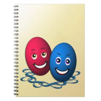 Dos Ostereier Spiral Notebooks