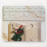 Dos páginas 'de unos de los reyes magos mouse pad