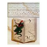 Dos páginas 'de unos de los reyes magos tarjetas postales