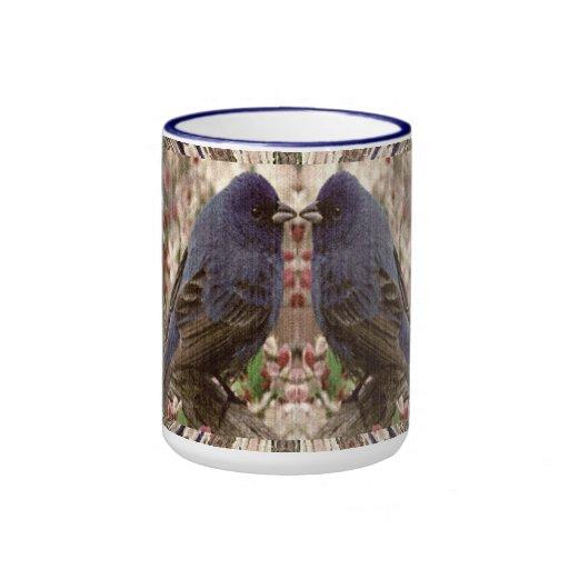 Dos pájaros 1 taza del campanero