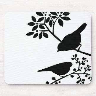 Dos pájaros Mousepad