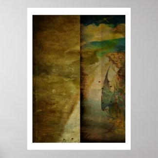 Dos pantallas delicadas póster