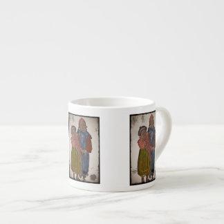 Dos pequeñas hermanas 1906 taza espresso