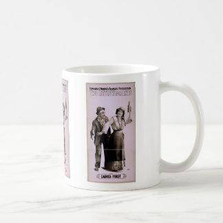 Dos pequeños vagabundos de las señoras teatro re taza de café