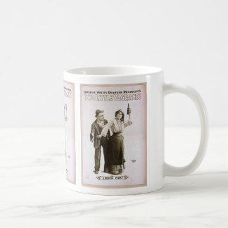 Dos pequeños vagabundos de las señoras vintage T Tazas De Café