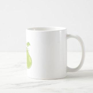 Dos peras taza de café