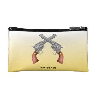Dos pistolas cruzadas viejo oeste - revólver
