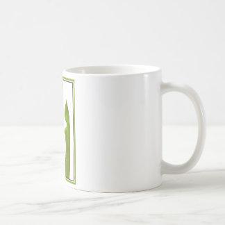 Dos plantas de jarra taza básica blanca