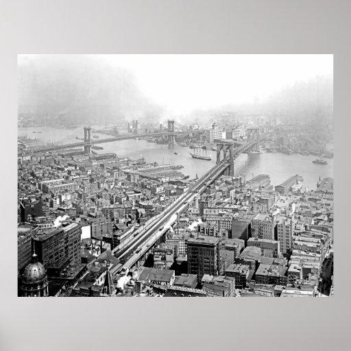 Dos puentes póster