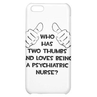 Dos pulgares. Enfermera psiquiátrica