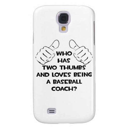 Dos pulgares. Entrenador de béisbol