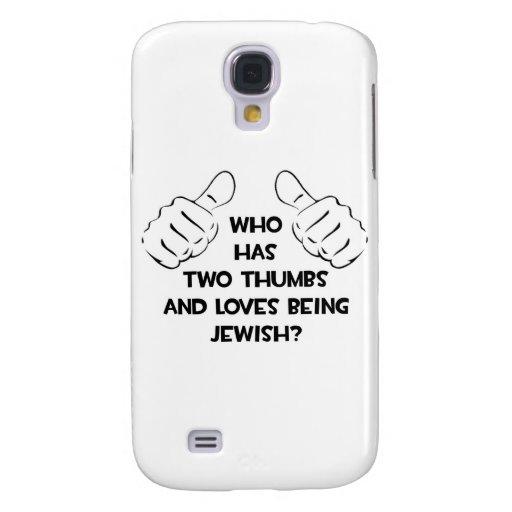 Dos pulgares. Judío Funda Para Galaxy S4