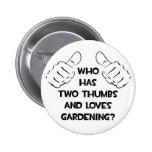 Dos pulgares y cultivar un huerto de los amores pin