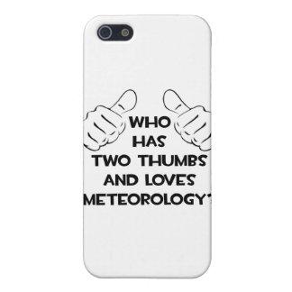 Dos pulgares y meteorologías de los amores iPhone 5 fundas
