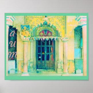 """Dos que ramifican hacia fuera """"poster del templo d póster"""