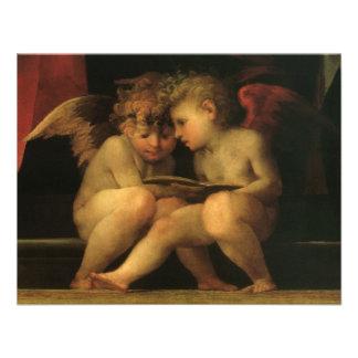 Dos querubes que leen por Rosso Fiorentino Anuncio Personalizado