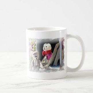 Dos ratones de los objetos curiosos tazas de café