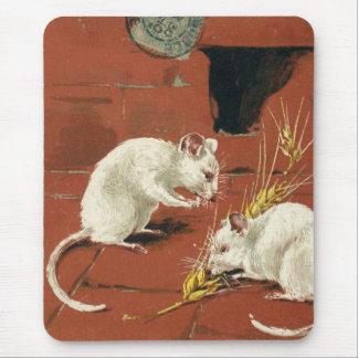 Dos ratones franceses alfombrilla de raton
