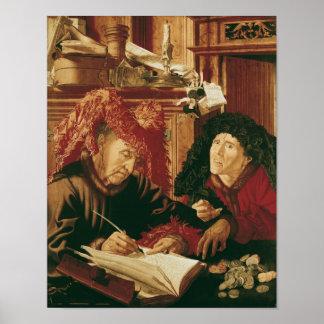 Dos recolectores del impuesto, c.1540 póster