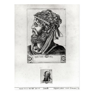 Dos retratos de Catullus Postales