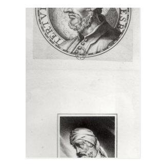 Dos retratos de Quintus Septimus Postales