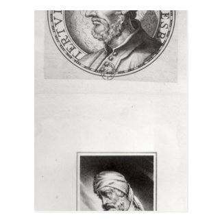 Dos retratos de Quintus Septimus Postal