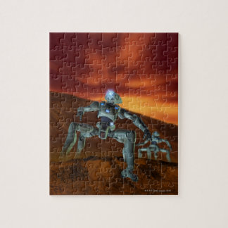 Dos robots puzzles