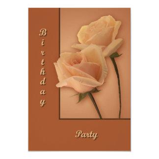 Dos rosas comunicados personalizados
