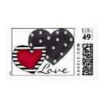 Dos sellos de los corazones