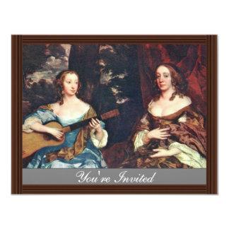 Dos señoras del lago family de sir Peter de Lely Comunicados Personales