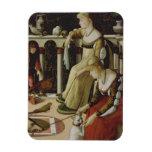 Dos señoras venecianas (el panel) iman flexible