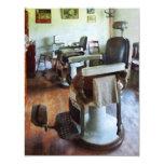 Dos sillas de peluquero invitacion personal