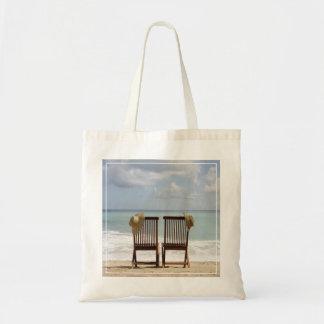 Dos sillas en la playa el   Barbados Bolsa Tela Barata