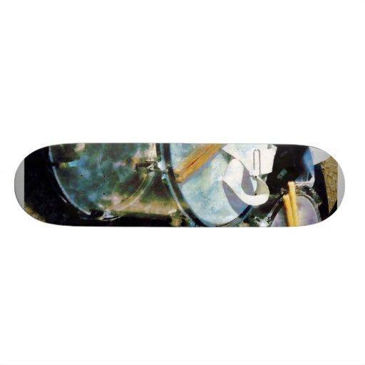 Dos tambores skateboards