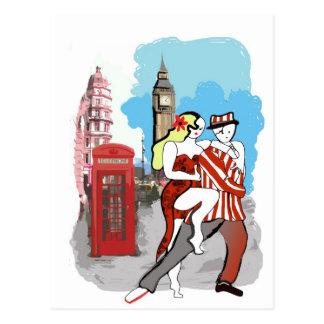 Dos Tangueritos en Londres Postal